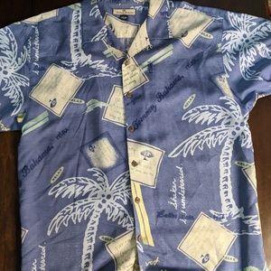 9b546d4e25c1d Tommy Bahama Shirts - Tommy Bahama Shirt 100% Silk Hawaiian Swingers Clu